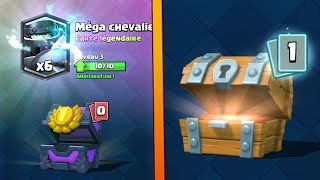 clash Royale that is what this CHANCE! EPIC OPENING TRUNK WOOD KNIGHT LEGENDARY MEGA PACK