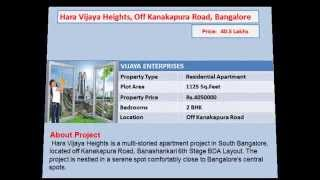 Flats For Sale In Kanakapura Road