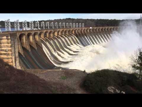 Lake Jordan dam 2
