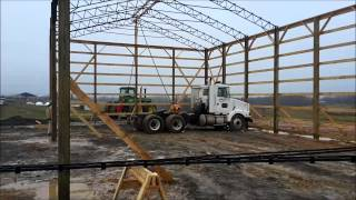 How To Build A Big Pole Barn
