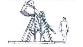 Real Trebuchet Plans - Punkin Chunkin Catapult - 3d Model