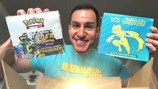 OPENING A POKEMON LOST THUNDER MYSTERY BOX! (Pokemon Cards)