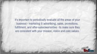 Mission, Vision & Core Value Statements