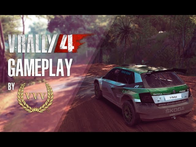 V-RALLY 4 | Rally Kenya Gameplay by Team VVV