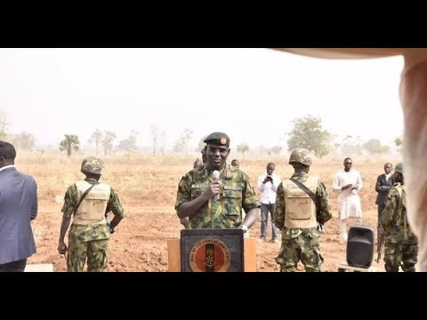 Nigerian army and Borno state to turn Sambisa forest into tourist centre