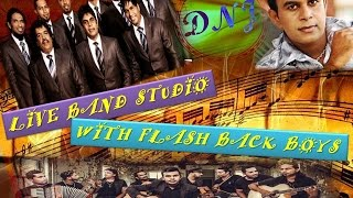 live band studio with flash back boys old hits with flash back sinhala band songs