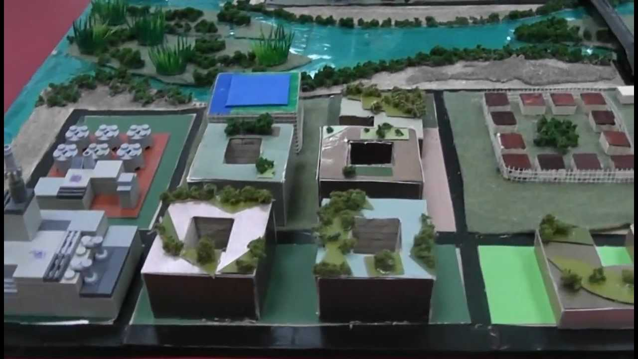 The City Of The Future In Model Form Youtube