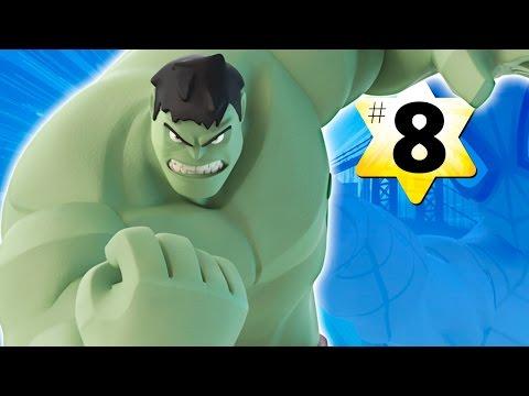 Прохождение Disney Infinity 2.0 Человек паук #8 Халк (Бонус)