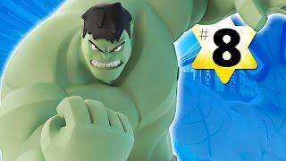 Прохождение Disney Infinity 2.0 Человек паук #8 Халк (Бонус)(Вот и прохождение игровой арены Человек паук в детской игре для мальчиков Disney Infinity 2.0 Супергерои Марвел..., 2014-11-20T14:00:10.000Z)