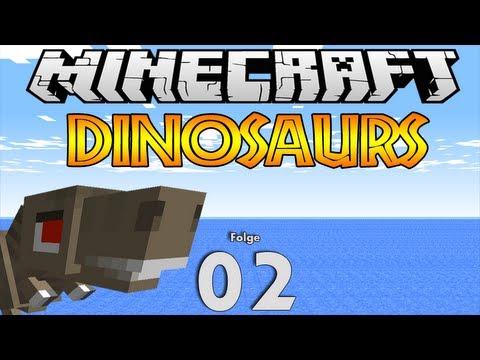 Minecraft Dinosaurs: #002 Dino Fossilien HD - YouTube