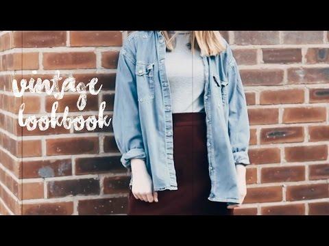 Vintage inspired lookbook // my style | Chloe Louise