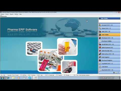 Creating Sale Challans in Miracle Pharma Software