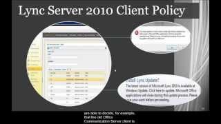 Lync Server Overview Part 2 - Exchange, UM, Office, Outlook and OneNote Integration US EN