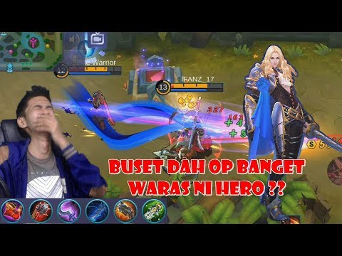 New Hero Lancelot - Parah OP Banget Hero Nya, Ga Waras Ini Mah - Mobile Legends