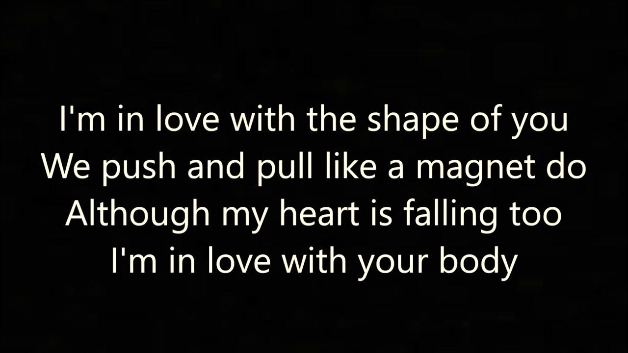 Shape Of You Ed Sheeran Lyrics And Mp3 Download Link Hq Youtube