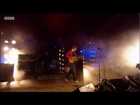 Ed Sheeran performs The A Team on the BBC Introducing Stage at Glastonbury 2011