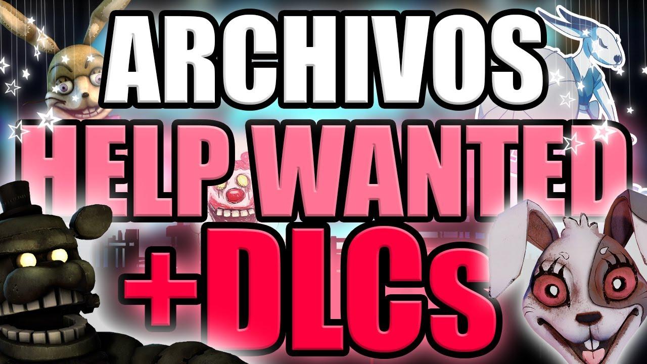 LOS ARCHIVOS SECRETOS DE FNaF VR: Help Wanted +DLCs (Curse of Dreadbear + Navidad) - GG Games