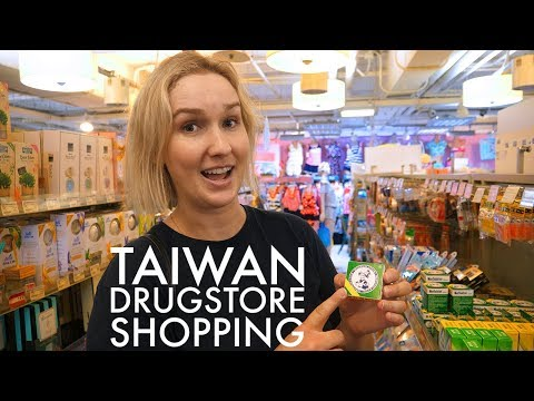 Taiwan Drugstore Shopping