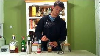 How to make a Royal Manhattan Cocktail