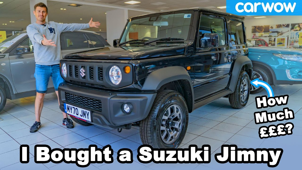 Download Suzuki Jimny 2020 review - see me BUY this actual car!