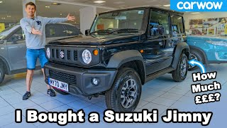 Suzuki Jimny 2020 review - see me BUY this actual car!