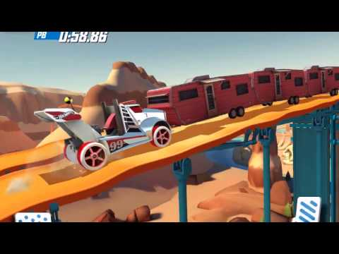 HOT WHEELS RACE OFF Rig Storm / Rodger Dodger / Street Creeper Gameplay Android / iOS