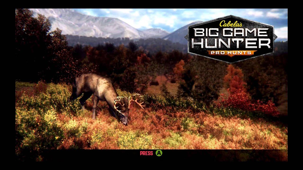 Cabela's Big Game Hunter: Pro Hunts for Wii U - GameFAQs
