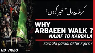 Arbaeen | Why Arbaeen Walk ? | Syed Nasir Ali | Walk To Karbala | Safar-e-Ishq-e-Hussain