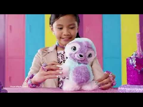 MAINAN ANAK CEWEK BONEKA TWISTY  Petz Cuddlez Puppy Transforming Collectible Plush Hot Toys 2019
