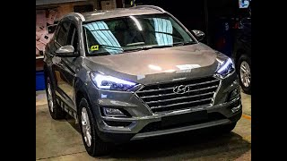 2019 Tucson for Ireland - 4 Specification Tour -- Brian Doolan at Fitzpatrick's Garage Kildare