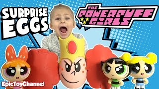 Cartoon Networks POWERPUFF GIRLS Surprise Egg of Princess Morbucks