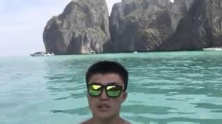 Остров Мая Бэй из фильма Пляж!!!! 480p 1