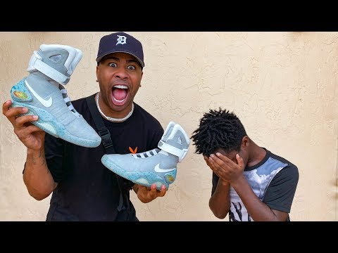 Surprising A Kid Who Gets Bullied With Nike Air Mags  An ENTIRE Sneaker Collection!!!