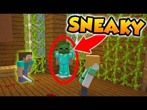 THE MURDERER DIDN'T KNOW I WAS HERE! (Minecraft Murder Mystery)