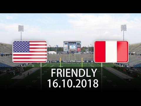 USA vs Peru - International Friendly - PES 2019
