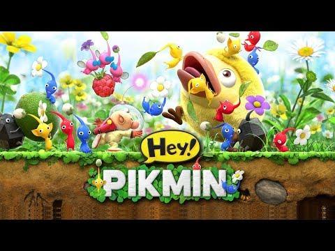 HEY! PIKMIN [3DS] - O CAPITÃO OLIMAR VOLTOU!