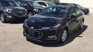 2017 Chevrolet Cruze Auto LT Mosaic Black Metallic Roy Nichols Motors Courtice ON