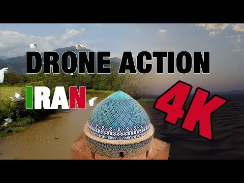 TDNN Travel - Pure Drone Action IRAN in 4K ! (DJI Mavic Pro)