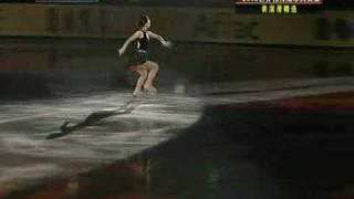 2008世界花样滑冰大奖赛  鈴木明子表演滑 08NHK杯EX Akiko SUZUKI