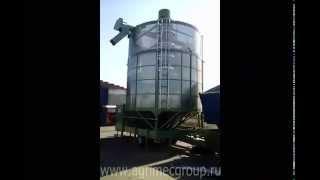 Зерносушилка Agrimec в работе