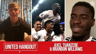 Utd Hangout | Axel Tuanzebe & Brandon Williams | Manchester United