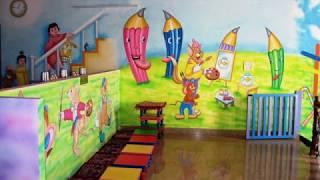 Новий освітній простір. Оформлення –дизайн стін навчального закладу. Колекція фотографій№1