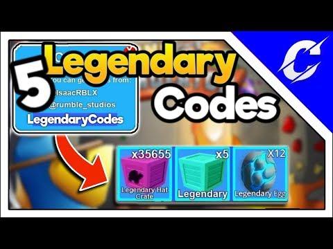 [ AUGUST ] 5 Legendary Codes | Legendary Hat Crate & Legendary Egg| Mining Simulator