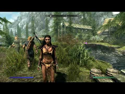 Skyrim - PS4 - Creation Club Mods - Survival Mode Mod & Others (Resumed Post Live Stream)