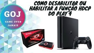 Playstation hdcp