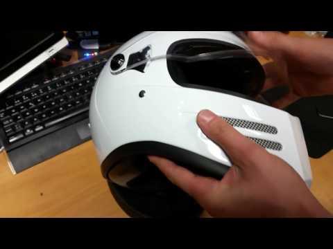 Mc-Boden - Change visor on Bandit helmets