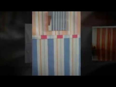Cortinas de tela para ducha - YouTube