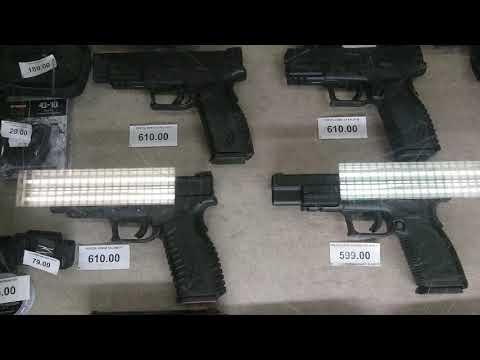 Оружейный магазин - покупаем патроны и сувениры к праздникам, смотрим стволы.