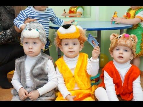 Новогодний праздник для детей 3-5 лет