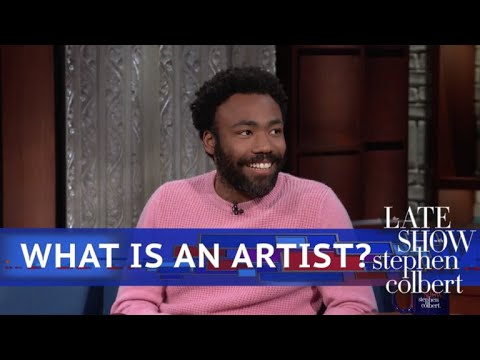 Web Exclusive: Donald Glover Knows What An Artist's Job Is